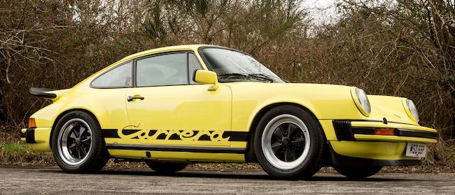1976 Porsche 911 Carrera Sport 3.0-Litre Coupé  Chassis no. 9116600796