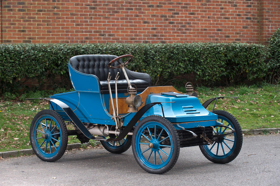 1906 Autocar 12hp Type X Runabout  Chassis no. 7534