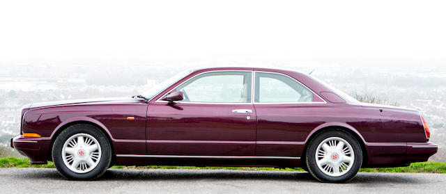 1995 Bentley  Continental R Coupé  Chassis no. SCBZB15CXTCH53036