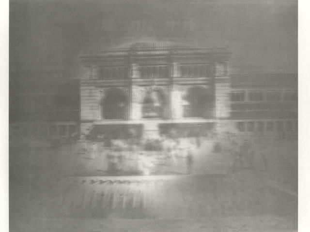 Gerhard Richter (German, born 1932) Hannover (Bahnhof) Offset lithograph, 1967, on wove, signed, dated, titled and numbered 83/170 in pencil, published by the Kunstverein Hamburg, the full sheet, 580 x 690mm (22 3/4 x 27 1/8in)(SH)