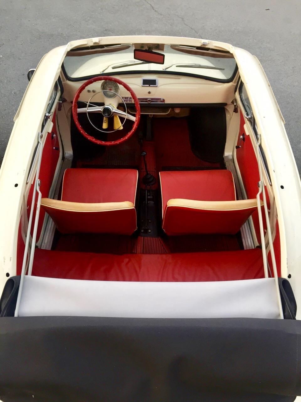 1962 Fiat 500D Saloon & Levante Graziella 300 Caravan  Chassis no. to be advised