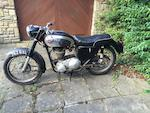 1961 Matchless 348cc G3 Project Frame no. A80913 Engine no. 61/G3 41017