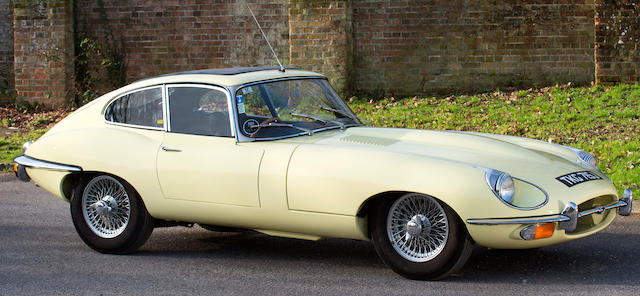 Property of a deceased's estate,1970 Jaguar E-Type Series 2 Coupé  Chassis no. 1R 20870