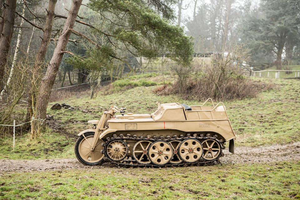 c.1944 NSU Kettenkrad  Chassis no. 116381/474