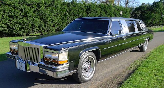 1988 Cadillac Trump Golden Series Limousine  Chassis no. 1G6DW514XJR761782