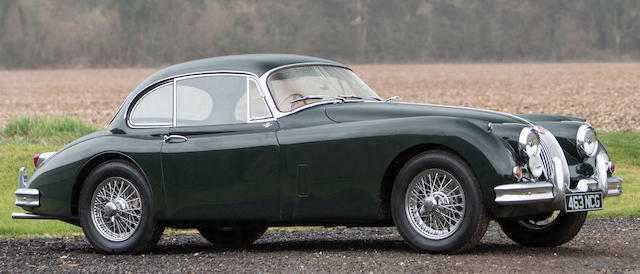 1959 Jaguar XK150 'S' 3.4-Litre Coupé  Chassis no. T825029DN