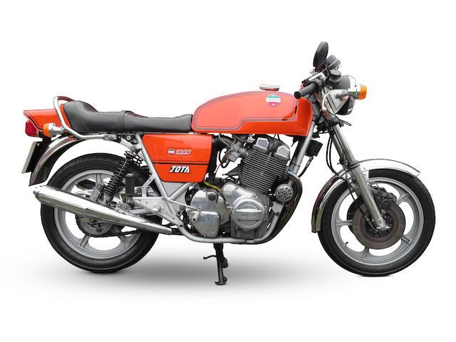 1979 Laverda 981cc Jota 180 Frame no. LAV-1000-6310 Engine no. 1000 6310