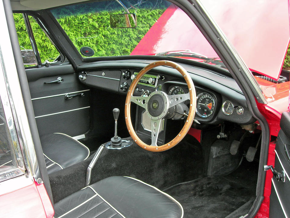 1966 MGB GT Coupé  Chassis no. GHD3 191354