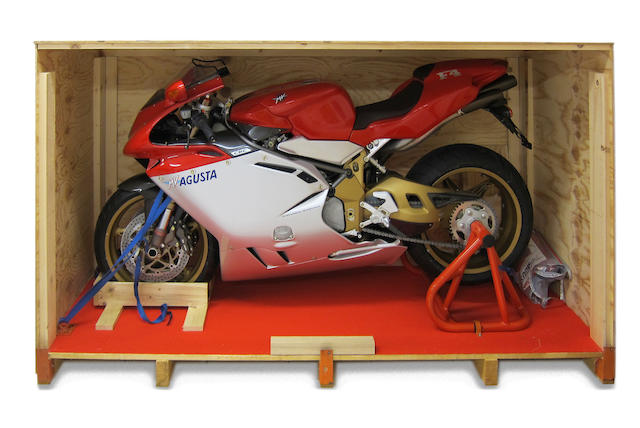 Crated and unused, #8 of 300,1998 MV Agusta 750cc F4 Serie Oro