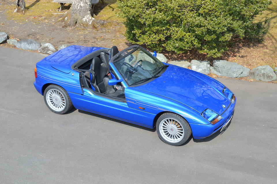 1989 BMW Z1 Alpina Roadster Limited Edition Tribute  Chassis no. WBABA910X0AL00032 Engine no. 45151807