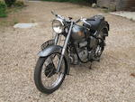 1950 Sunbeam 489cc S8 Frame no. S8 2020 Engine no. S8 2581