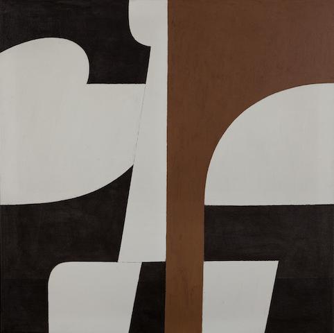 Yiannis Moralis (Greek, 1916-2009) Angel leader 80 x 80 cm.