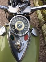 1942 Harley-Davidson 61ci 'Knucklehead' Frame no. 42E2640 Engine no. 42E2640