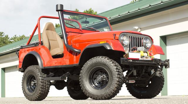 1978 Jeep CJ-5 4x4  Chassis no. J8F83AH042831
