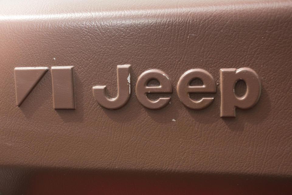 1978 Jeep CJ-5 4x4  Chassis no. J8F83AH042831