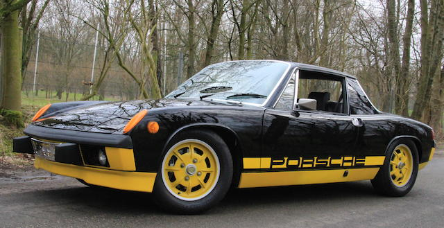 1974 Porsche 914 2.0-Litre Bumblebee Limited Edition Targa  Chassis no. 4742915510