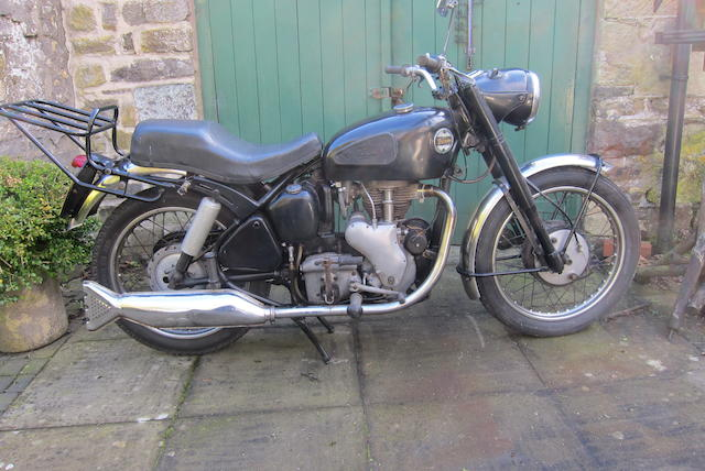 Property of a deceased's estate,1959 Velocette 348cc MAC Frame no. RS8464 Engine no. MAC 25190