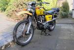1981 Triumph 744cc Tiger Trail TR7T Frame no. TR7T EDA30050 Engine no. TR7T EDA30050