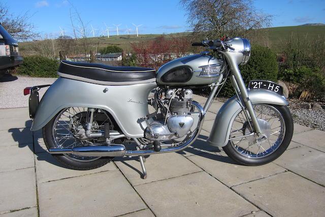 1957 Triumph 348cc Twenty One Frame no. H5 Engine no. 21 H5