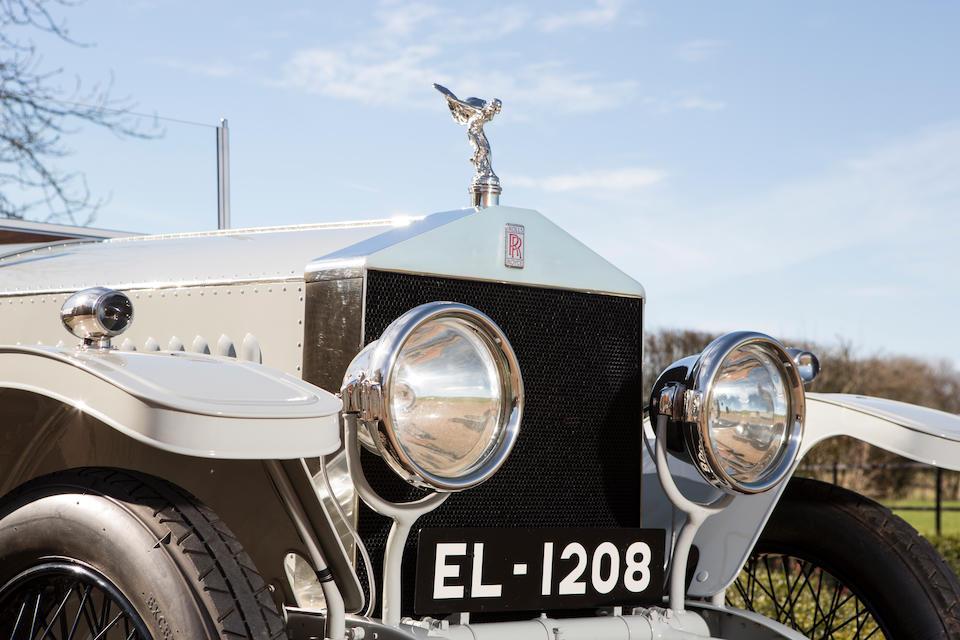 'The Rolls from Rajputana' Formerly the property of His Highness the Maharana Sir Fateh Singh Bahadur of Udaipur, G.C.S.I. (1849-1930),1914 Rolls-Royce 40/50hp Silver Ghost Open Tourer  Chassis no. 64 AB