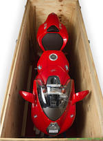 Crated and unused,1998 MV Agusta 750cc F4 'Serie Oro' Frame no. CGVF400AAXV000008 Engine no. inaccessible