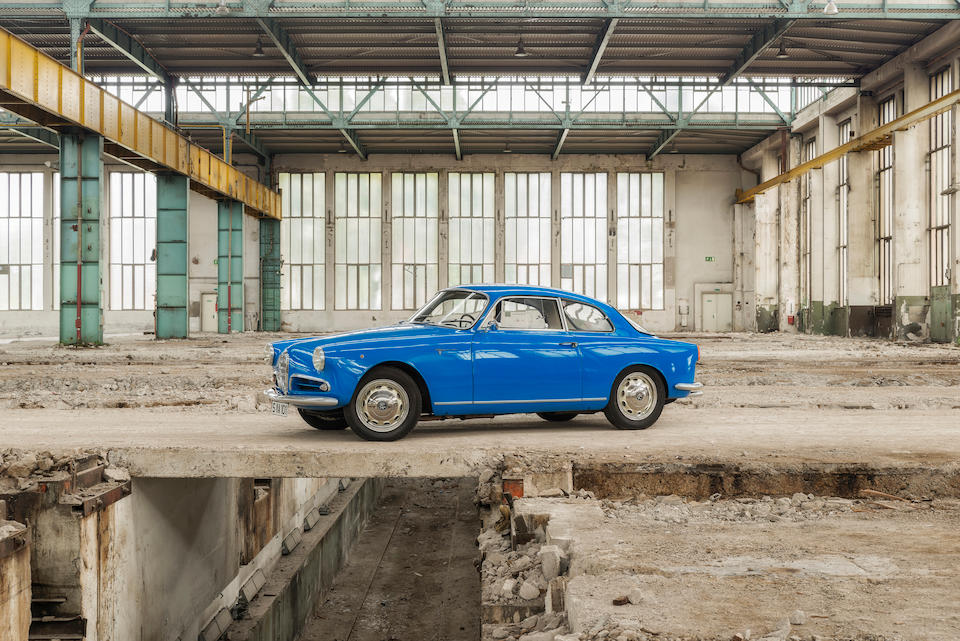 1956 Alfa Romeo Giulietta Sprint Veloce Alleggerita Coupé  Chassis no. AR1493 E 02159 Engine no. AR131530114