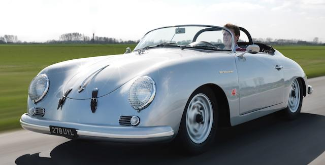 Rare and desirable late example,1958 Porsche 356 A 1600 Super Speedster  Chassis no. 84185 Engine no. 810267