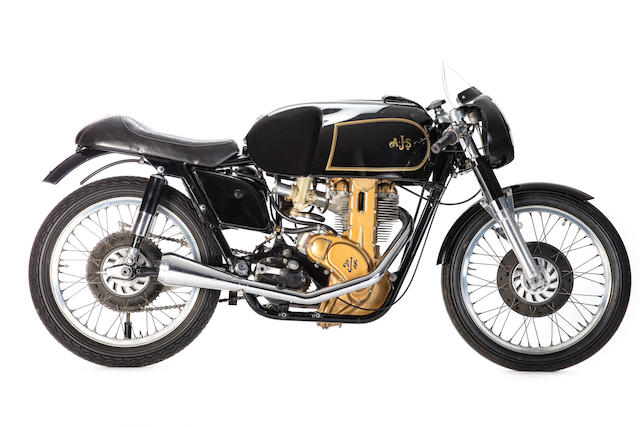 1956 AJS 350cc 7R Racing Motorcycle Frame no. 1553