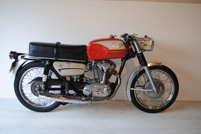 1970 Ducati 250cc Monza Frame no. 98448 Engine no. 103302