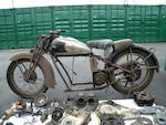 c.1932 Ariel Model 4F Square Four Project Frame no. to be advised Engine no. to be advised