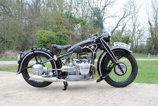 1941 BMW 745cc R12 Frame no. 36795 Engine no. 1294