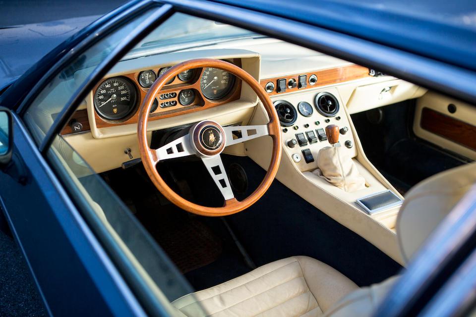 1971 Lamborghini Espada Series II Coupé  Chassis no. 8346 Engine no. 40551