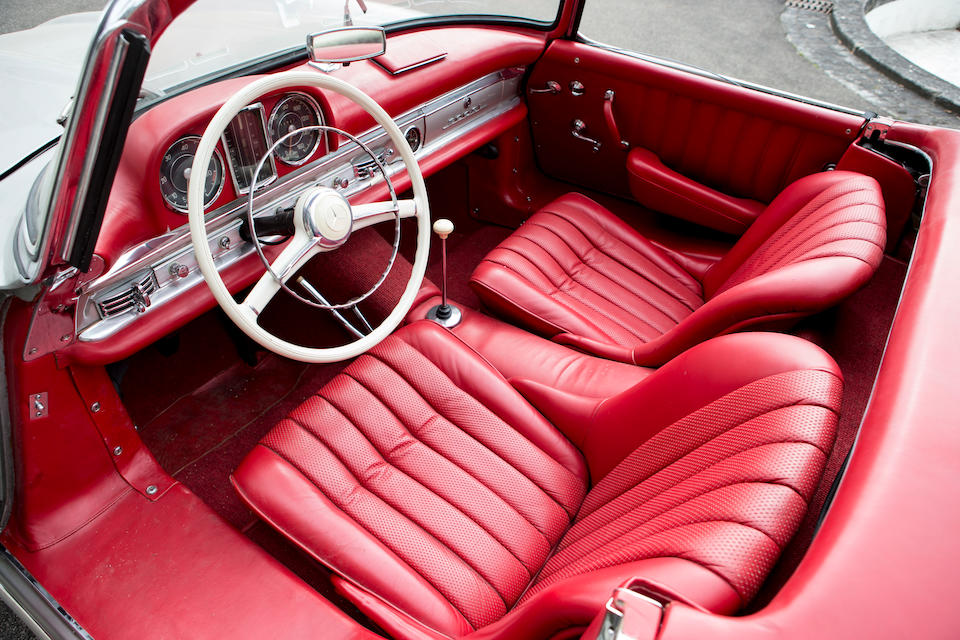 1958 Mercedes-Benz 300SL Roadster  Chassis no. 198.042.8500327