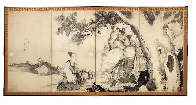 SOGA SHOGETSU (DATES UNKNOWN) Edo period (1615-1868), late 18th/early 19th century