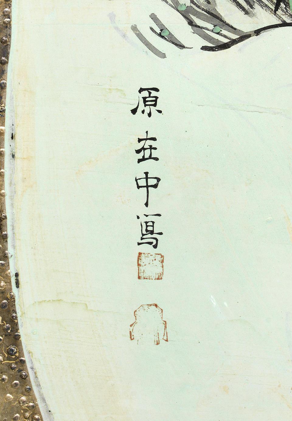 MANNER OF HARA ZAICHU (1750-1837) Edo period (1615-1868) or Meiji era (1868-1912), 19th century (2)