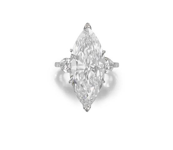 A diamond single-stone ring,  by Van Cleef & Arpels
