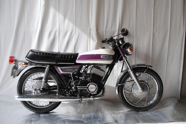 1974 Yamaha 347cc YR5 Frame no. R5-132544 Engine no. R5-041697