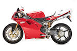 2000 Ducati 996SPS 'FR2' Frame no. ZDMH100AAXB003351 Engine no. not visible