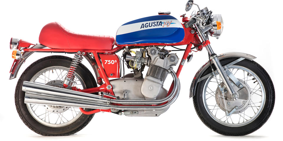 1973 MV Agusta 750S Frame no. MV750S 2140312 Engine no. 199-062