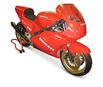 1989 Ducati 888cc 'Lucchinelli Replica' Racing Motorcycle  Frame no. ZDM851S*850116* Engine no. ZDM851W4*850176 (see text)