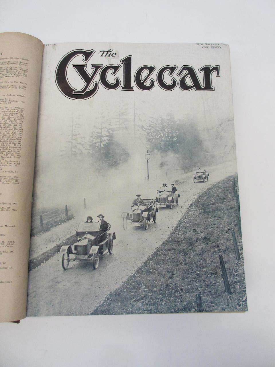 The Cyclecar, Volume I, 27 November 1912 to 21 May 1913,