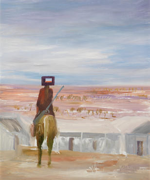 Sidney Nolan (1917-1992) Ned Kelly, 1966