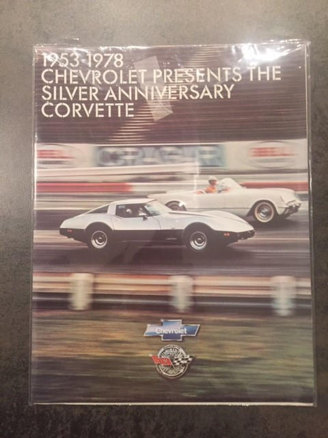 Only 56 miles from new,1978 Chevrolet Corvette '25th Anniversary' Targa-Top Coupé  Chassis no. 1Z87L8S439566