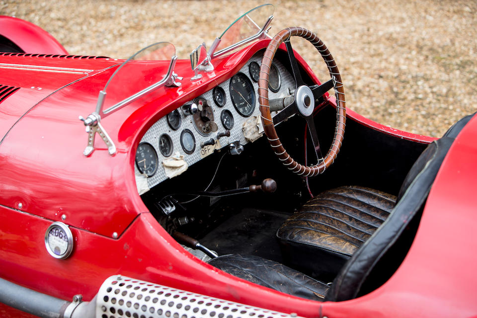 1936 Alfa Romeo 6C 2300 Twin Supercharged Special  Chassis no. 813017