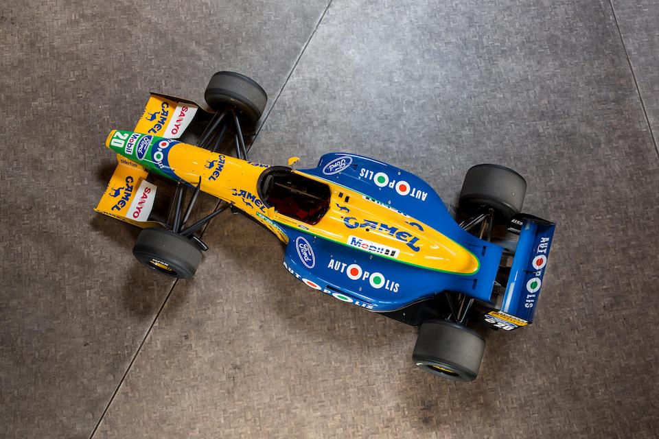 The Ex-Michael Schumacher, Nelson Piquet, Roberto Moreno,Canadian Grand Prix-winning,1991 3.5-litre BENETTON-COSWORTH FORD B191  Chassis no. B-191-02