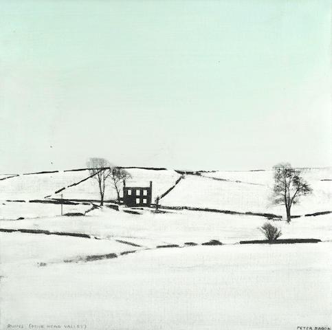 Peter Brook (British, 1927-2009) 'Ruins (Dene Head Valley)'