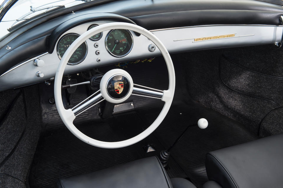 The John Coombs,1955 Porsche 356 'Pre-A' Speedster with Hardtop  Chassis no. 80773