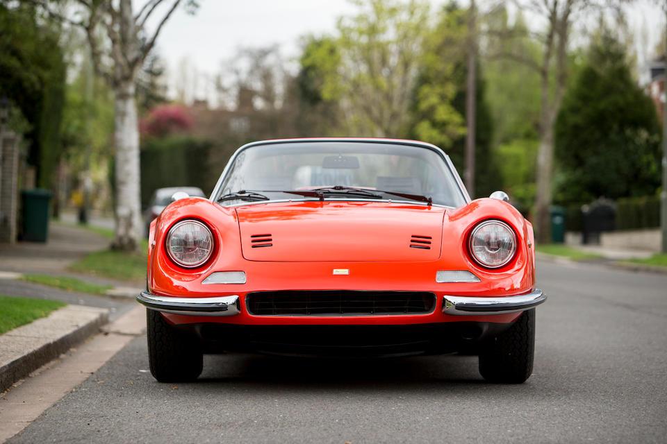 1974 Ferrari  Dino 246 GT Spyder  Chassis no. 07026