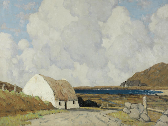 Paul Henry R.H.A. (Irish, 1876-1958) Ferriter's Cove, Kerry 59.2 x 72.2 cm. (23 1/4 x 28 3/8 in.) (Painted 1935-36)