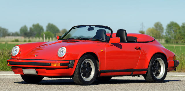 One of only 171 examples built,1989 Porsche  911 3.2-Litre 'Narrow-body' Speedster  Chassis no. WPOZZZ91ZKS152253
